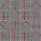 Glen Plaid pattern. Stock Images