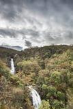 Glen Righ Waterfalls near Fort William in Scotland. Stock Image