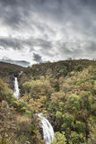 Glen Righ Waterfalls near Fort William in Scotland. Glen Righ Waterfalls in the highlands of Scotland Stock Image