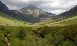 Glen Rosa στο νησί Arran Σκωτία Στοκ Εικόνες