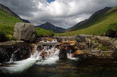 Glen Rosa auf Arran, Schottland Lizenzfreies Stockfoto