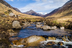 Glen Rosa on the Isle of Arran, Scotland Stock Photography