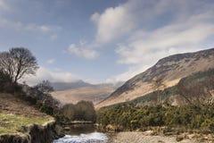 Glen Rosa på ön av Arran i Skottland royaltyfri foto