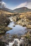 Glen Sannox στο νησί Arran στη Σκωτία Στοκ Εικόνα