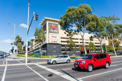 The Glen shopping centre in Glen Waverley in Melbourne Royalty Free Stock Photo