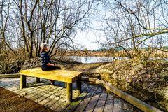 Glen Valley Regional Park, Fort Langley, Brits Colombia, Canada stock fotografie