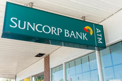 Glen Waverley branch of Suncorp Bank, Australia Royalty Free Stock Images