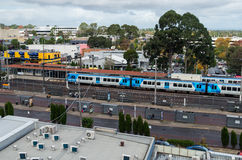 Glen Waverley Railway Station In Melbourne, Australia Royalty Free Stock Images