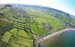 Glenariff Glenariffe Waterfoot Co Nordliga Antrim - irelan Irland Royaltyfri Bild