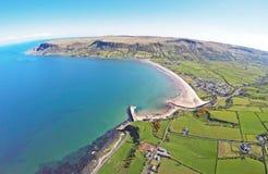 Glenariff Glenariffe Waterfoot Co Nordliga Antrim - irelan Irland Arkivbild