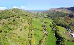 Glenariff Glenariffe Waterfoot Co Nordliga Antrim - Irland Royaltyfria Bilder