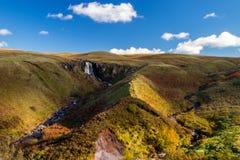 Glenariff jest doliną okręg administracyjny Antrim, Północnym - Ireland zdjęcia royalty free