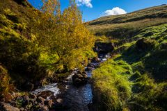 Glenariff is a valley of County Antrim, Northern Ireland. royalty free stock image