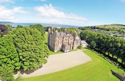 Glenarm Castle Co.Antrim Northern Ireland stock photography