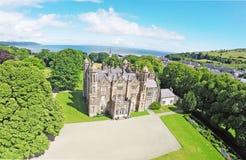 Glenarm Castle Co.Antrim Northern Ireland stock image