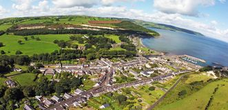 Glenarm Co.Antrim Northern Ireland. Glenariff Glenariffe Waterfoot Co.Antrim Northern Ireland ireland Dunluce Castle Co. Antrim Northern Ireland n.i. rathlin stock photos