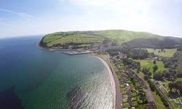 Glenarm Co Nordliga Antrim - Irland Royaltyfri Foto