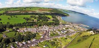 Glenarm Co Nordliga Antrim - Irland Arkivfoton
