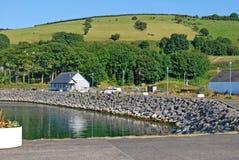 Glenarm-Hafen Marina Antrim Northern Ireland lizenzfreie stockfotografie