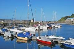 Glenarm Harbour Marina Antrim Northern Ireland. Glenarm Harbour Marina Co Antrim Northern Ireland royalty free stock image