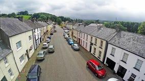 Glenarm Village Antrim Northern Ireland. Glenarm Village Co. Antrim Northern Ireland stock image