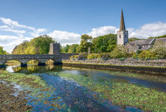 Glenarm village, Northern Ireland Royalty Free Stock Photo