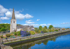 Glenarm village, Northern Ireland Stock Photo