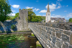 Glenarm village, Northern Ireland Royalty Free Stock Photography
