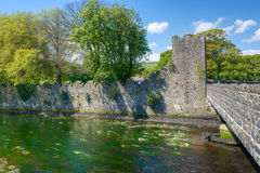 Glenarm village, Northern Ireland Royalty Free Stock Photos