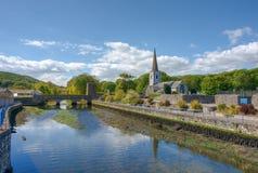 Glenarm wioska, Północna - Ireland zdjęcie stock