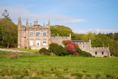 Glenbarr Abbey. stock photography