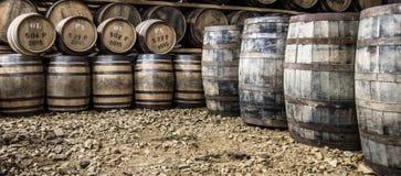 Glenbeg, Ardnamurchan - Шотландия - 26-ое мая 2017: Винокурня Ardnamurchan производит виски с 2014 и фактически стоковое изображение