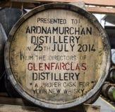 Glenbeg, Ardnamurchan - Schottland - 26. Mai 2017: Ardnamurchan-Brennerei produziert Whisky seit 2014 und wirklich Lizenzfreies Stockbild