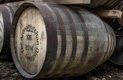 Glenbeg, Ardnamurchan - Schottland - 26. Mai 2017: Ardnamurchan-Brennerei produziert Whisky seit 2014 und wirklich Lizenzfreies Stockfoto
