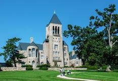Glencairnmuseum - kasteel-als herenhuis in Bryn Athyn, Pennsylvania stock afbeeldingen