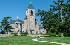 Glencairnmuseum - kasteel-als herenhuis in Bryn Athyn, Pennsylvania stock foto