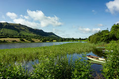 Glencar lough Obraz Stock