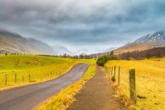 Glenclova Cairngorms Scozia Immagine Stock