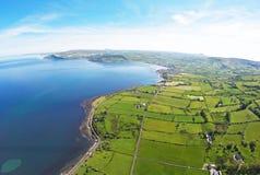 Glencloy Co Nordliga Antrim - Irland Fotografering för Bildbyråer