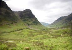 Glencoe在苏格兰 免版税库存照片