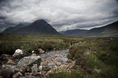 glencoe Σκωτία Στοκ φωτογραφία με δικαίωμα ελεύθερης χρήσης