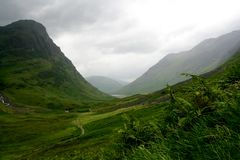 glencoe Σκωτία Στοκ Φωτογραφίες