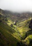 Glencoe - шотландские гористые местности Стоковые Изображения RF