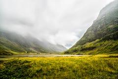 Glencoe Шотландия, UK Стоковые Изображения
