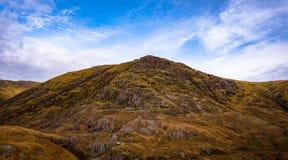 Glencoe berg Arkivfoton