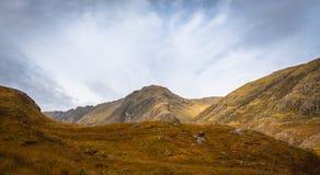 Glencoe berg Royaltyfria Bilder