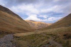 Glencoe berg Royaltyfria Foton