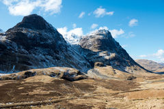 Glencoe in de winter Royalty-vrije Stock Fotografie