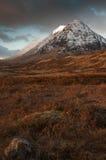 Glencoe en invierno Foto de archivo