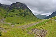Glencoe, Escocia Fotografía de archivo libre de regalías
